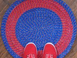 bright rope rug