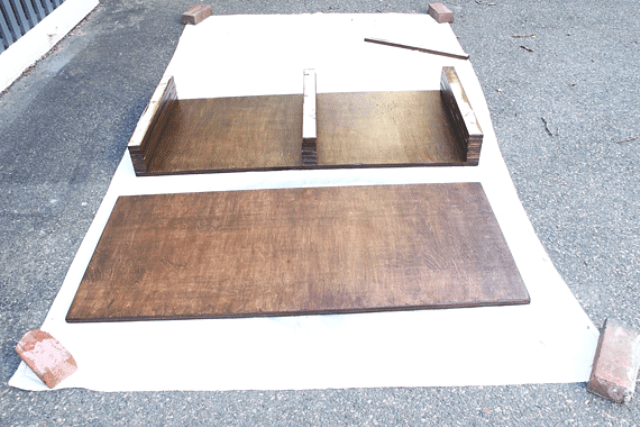 Picture Of diy storage coffee table with hairpin legs  3