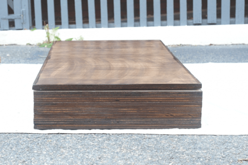 Diy Storage Coffee Table With Hairpin Legs Shelterness