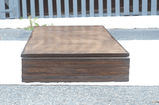 Picture Of diy storage coffee table with hairpin legs  7