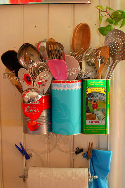 10 Ideas To Recycle Tin Cans As Handy Organizers Shelterness