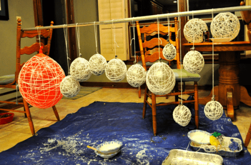 Diy String Chandeliers