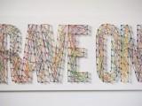 typographic string artwork