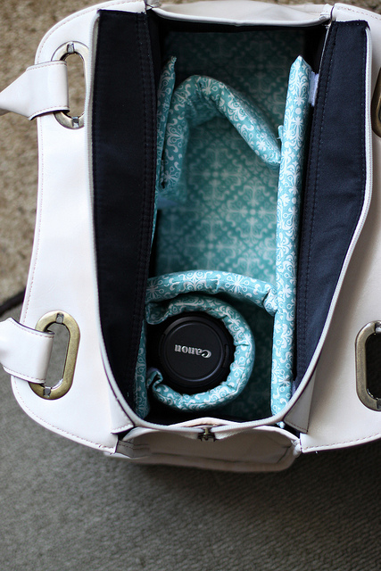DIY Stylish Camera Bag From Any Bag You Like