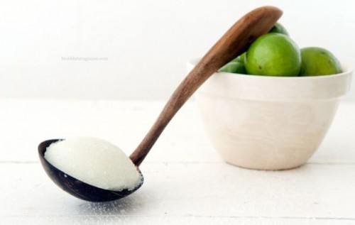 DIY Summer-Inspired Coconut Lime Body Scrub