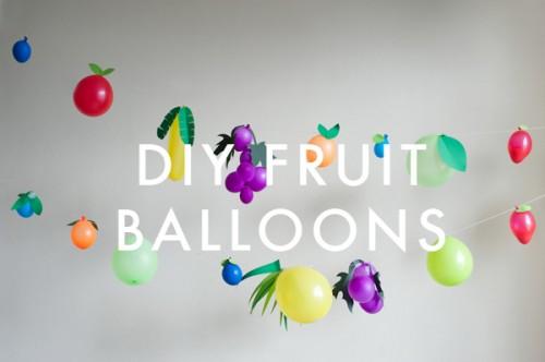 fruit balloons banner (via ohhappyday)