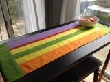 Diy Summer Stripe Table Runner