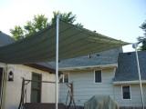 Diy Sun Shade For Your Patio Or Terrace