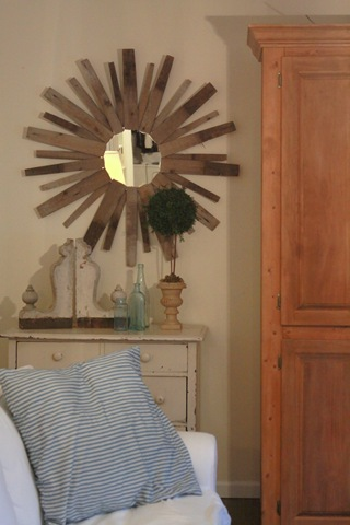Diy Sunburst Mirror Of Wine Barrels
