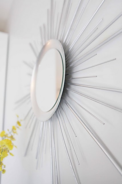 How To Make A Sunburst Mirror Of Wood Dowels