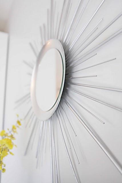 How To Make A Sunburst Mirror Of Wood Dowels