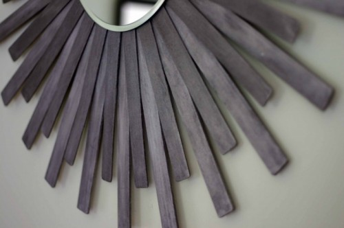 Diy Sunburst Wall Mirror
