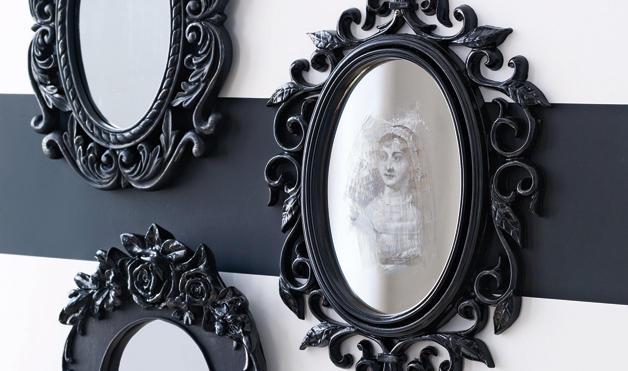 Diy Supernatural Spooky Halloween Mirror