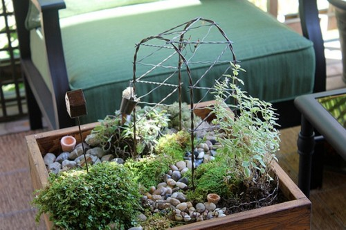 Diy Tabletop Miniature Garden
