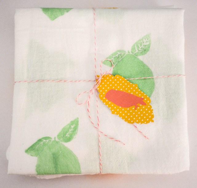 fruit tea towels