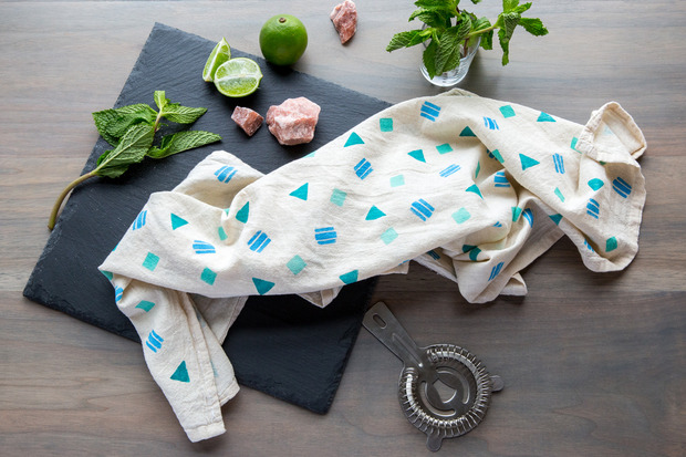 confetti tea towels