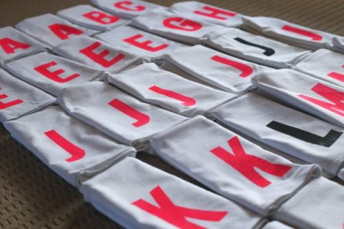 monogram tea towels (via erinmadethis)