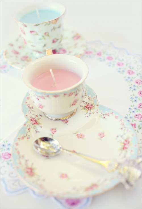 10 DIY Tutorials To Make Teacup Candles