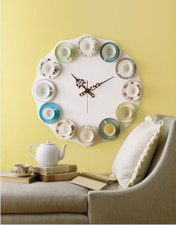 5 Cool Teacup Clocks That You Can Make By Yourself
