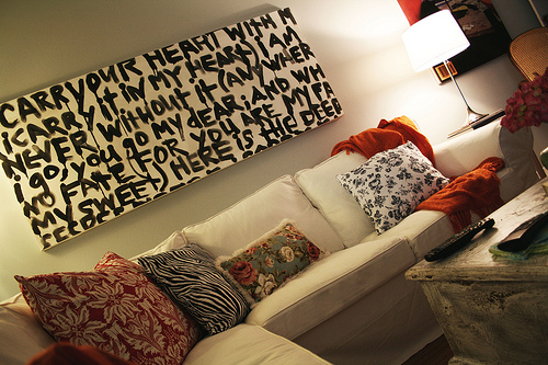 Diy Text Painting