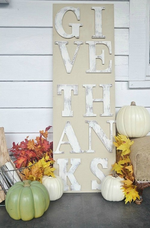 9 DIY Thanksgiving Front Door Décor Ideas - Shelterness