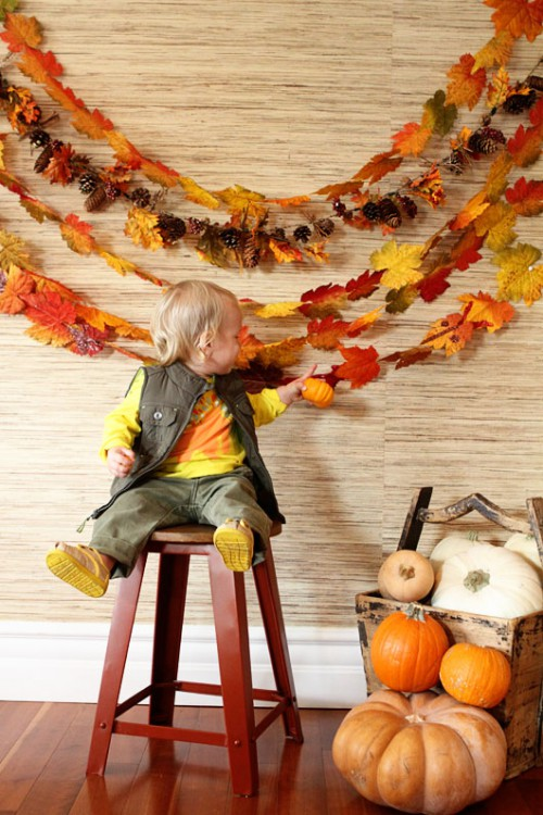 leaf garland (via fortheloveof)