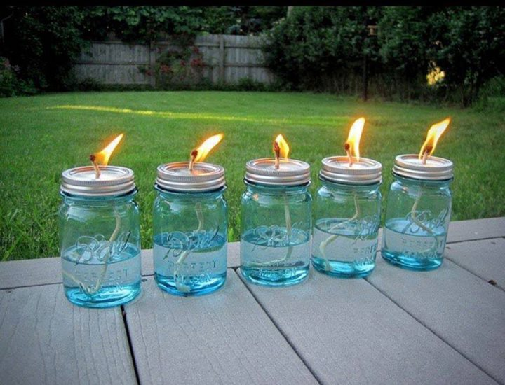 citronella mosquito lamps