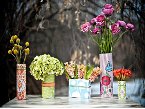 Diy Tin Can Vases