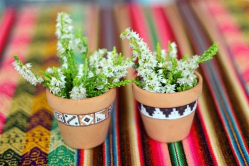 DIY Tiny Peruvian Pots Inspired By Inca Calendar