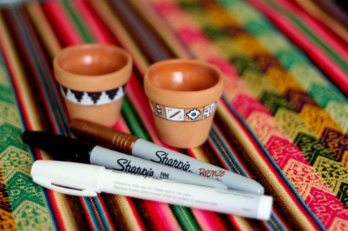 Diy Tiny Peruvian Pots Inspired By Inca Calendar
