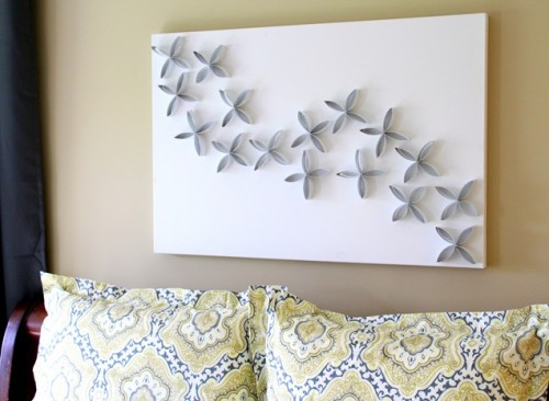 Diy Toilet Paper Roll Wall Art