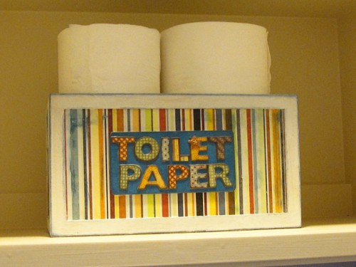Diy Toilet Paper Storage Box