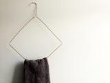 wire towel hanger
