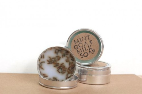 Diy Travel Tin Goat Milk Soap