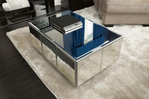Diy Trendy Mirror Coffee Table