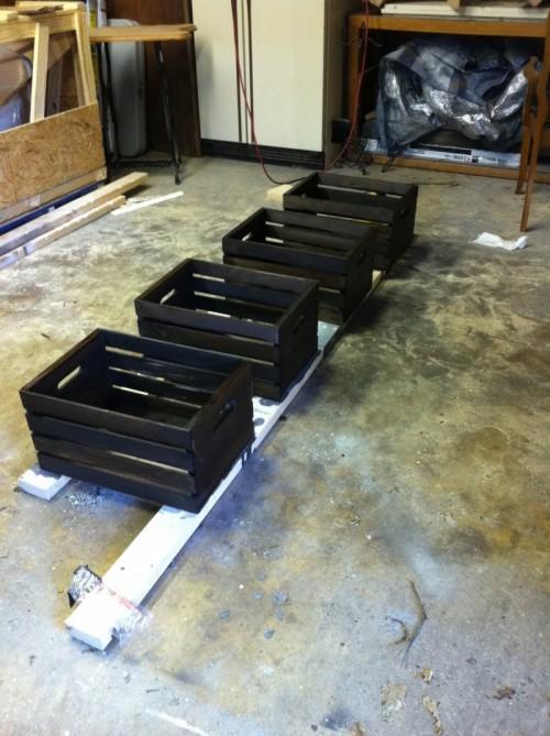 Diy Tv Cabinet Of Crates