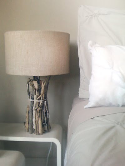 Diy Twig Lamp