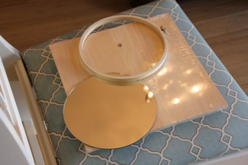 Diy Two Colored Sunburst Mirror