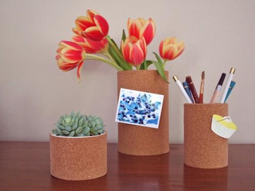 Diy Uncanny Cork Vases