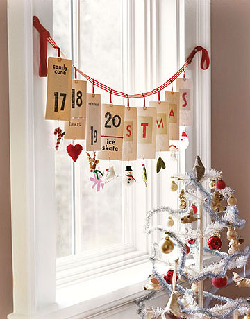 Diy Unique Advent Garland