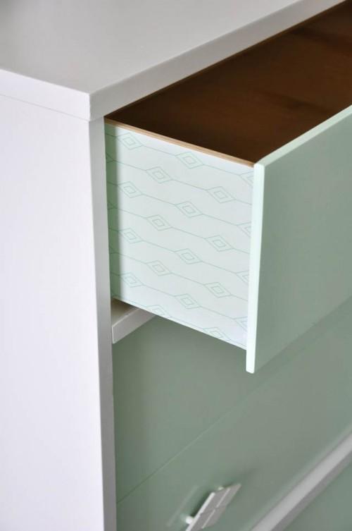 Diy Upcycled Vintage Painted Dresser