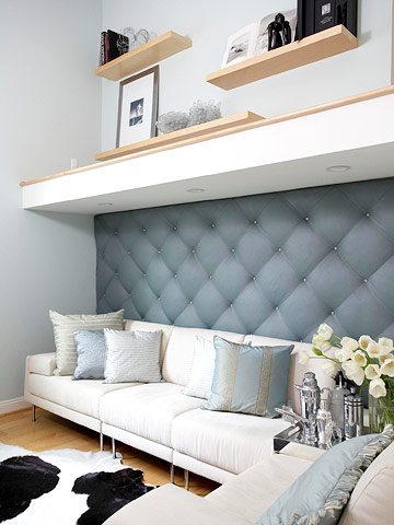 DIY Upholstered Wall For Any Room