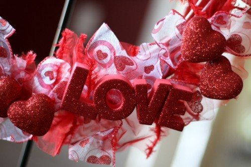 Diy Valentine Ribbon Wreath