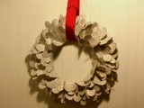 Diy Valentines Book Wreath