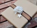 DIY burlap wrapping