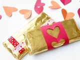 DIY chocolate bar wrappers