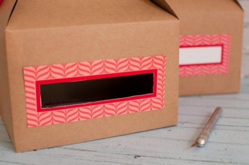 Diy Valentines Day Mail Box