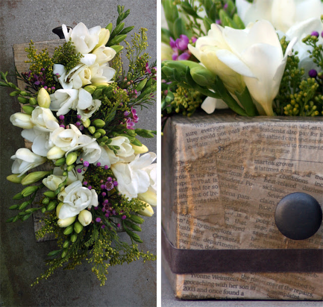 Diy Vintage Flower Vase Of A Tissue Box