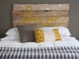 Diy Vintage Looking Headboard