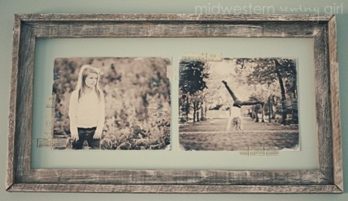 Diy Vintage Photo Frame